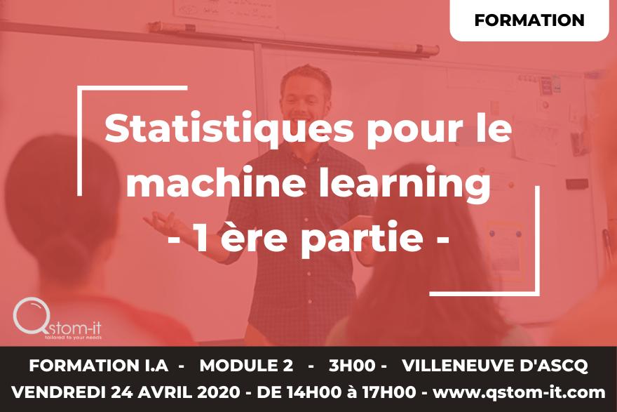 Formation intelligence artificielle - statistiques