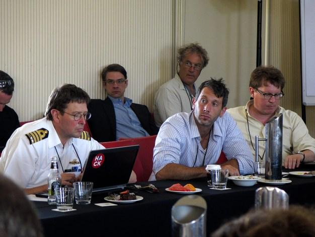 Q3 participants preparing their interventions. Photo: Gilbert Bel-Bachir.