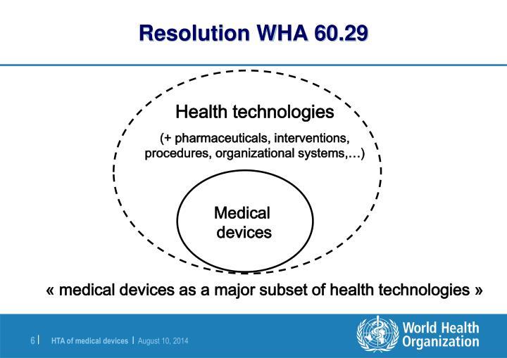 OMS, ingeniería clínica y su relación con los objetivos globales en salud.
