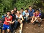 Hiking with the Hogar boys