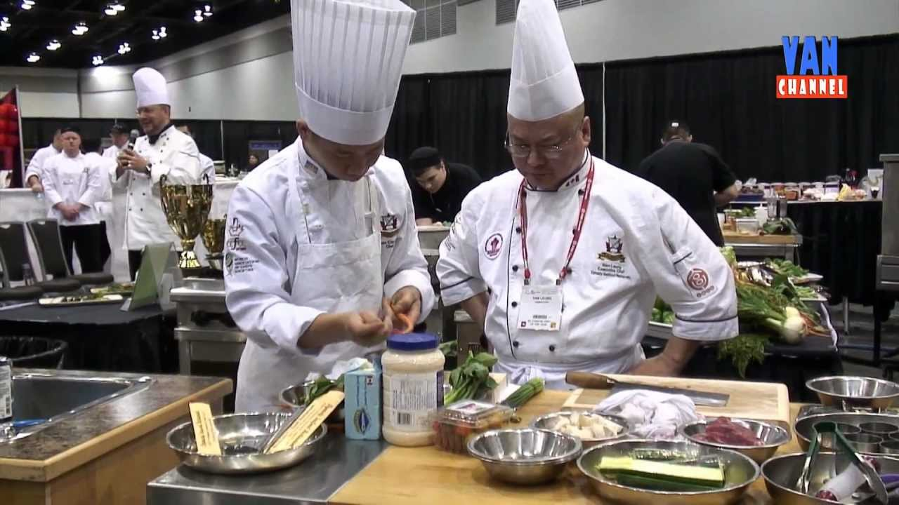 Bc Foodservice Expo Chinese Chef Competition 2012