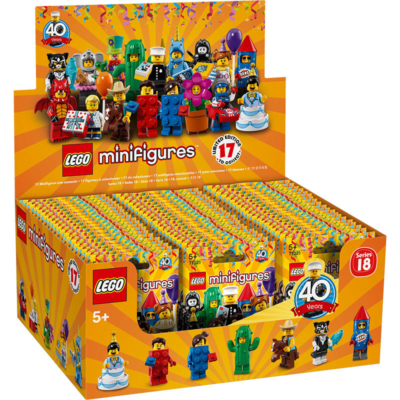 Lego 71021 NEW in Open Bag Series 18 Minifigures