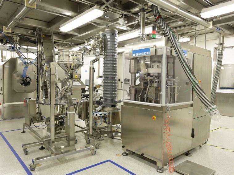 Janssen's Prezista continuous manufacturing line