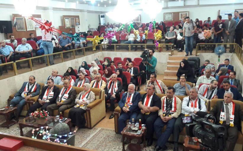 جامعة القادسية تحتفل باسبوع النصر ( تحرير الموصل )