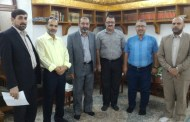 زيارة وفد كلية الطب البيطري جامعة القادسية الى العتبة العلوية المقدسة