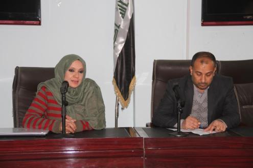 """كلية القانون في جامعة القادسية تقيم حلقة نقاشية بعنوان """"حقوق العراق المائية في خور عبد الله وفق القانون الدولي العام"""""""