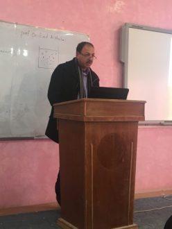 كلية التقانات الاحيائية في جامعة القادسية تعقدحلقة دراسية بعنوان (ادارة الوقت)