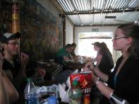 Eating Lunch in Soweto