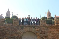QU301 South Africa students at Union Building in Pretoria.