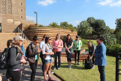 Students at Voortrekker Monument