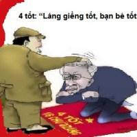 """TRUNG QUỐC LẠI TRIỆU TẬP NGUYỄN THIỆN NHÂN ĐẾN BẮC KINH """"ký hiệp một số hiệp ước thỏa thuận với Trung quốc"""""""