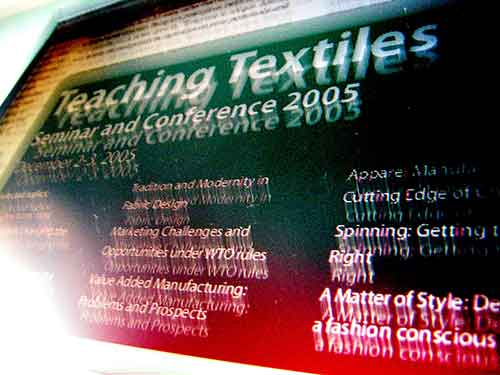 Teaching Textiles Seminar and Conference December 2005