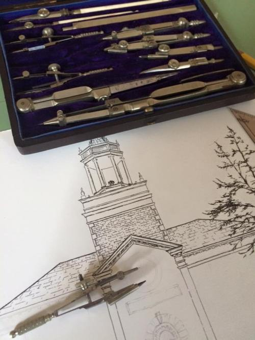 Precision drawings of the work to come
