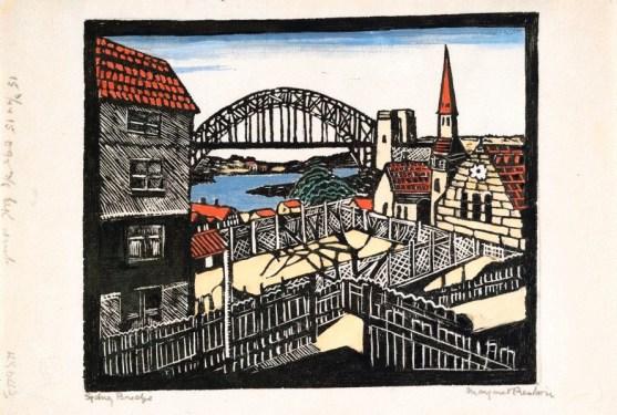Sydney's bridge - Margaret Preston