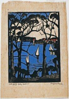Sydney Heads - Margaret Preston