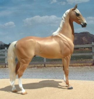 The Golden Akhal Teke