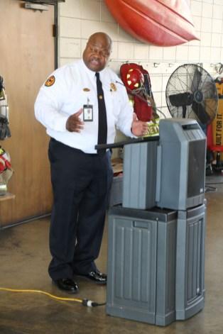 Florence Fire Chief Jeffrey Perkins
