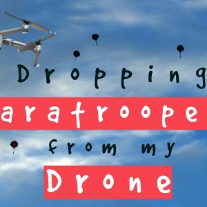 Dropping Paratroopers from my Mavic 2 Pro | DO NOT TRY THIS AT HOME