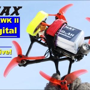 Under 250 gram EMAX Babyhawk II HD Digital is a very impressive FPV Drone