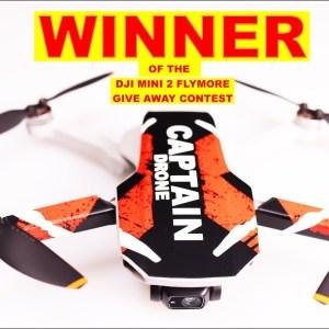 January DJI Mini 2 Fly More Drone Contest Winner!
