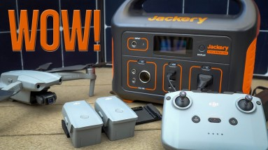 Ultimate Drone (and LIFE) Portable Charger/Power - Jackery Explorer 500