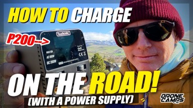 BEST LIPO CHARGER & Power Supply Combo for charging lipos on the road!