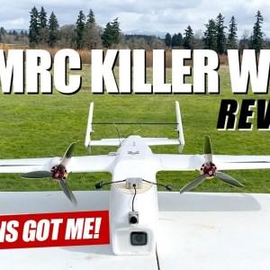 WOW GREMLINS GOT ME!!! - Eachine AtomRC Killer Whale Long Range Fpv Plane - FULL REVIEW & FLIGHTS