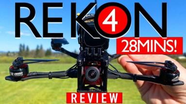 Hglrc REKON 4 Long Range Fpv Drone - FULL REVIEW & FLIGHTS 🏆