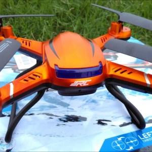 JJRC H12W Quadcopter Flight, Flips Camera Footage