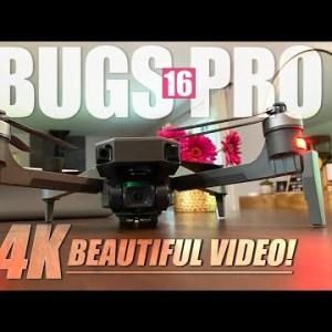 CHEAP 4K DRONE! - MJX Bugs 16 Pro 4K Gps Drone - FULL REVIEW & FLIGHTS + Giveaway! 🏆