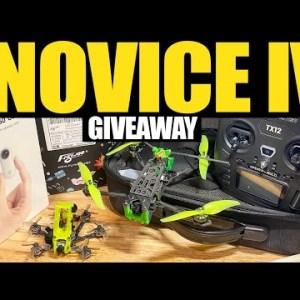 NEW' Eachine Novice IV RTF Giveaway + June Insta360 & Flywoo Winner!