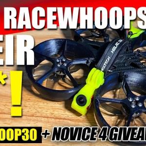 FASTEST CINEWHOOP!!! - Hglrc Racewhoop30 Racing Drone - Flights, Review, & GIVEAWAY 🏆