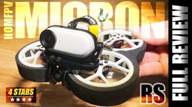 Palm sized Cinema! - HOMFpv Micron 2 RS Cinewhoop - FULL REVIEW & FLIGHTS