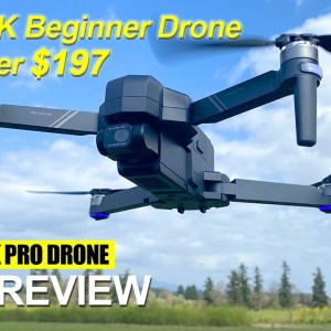SJRC F11 4K Pro Drone - Great Drone for $190 that has great video!