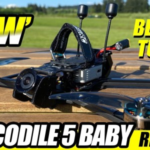 BEST TUNED - GepRc Crocodile 5 Baby Long Range Fpv Drone - REVIEW & COMPARISON