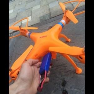 SYMA X8C X8W FPV Quadcopter Close Look
