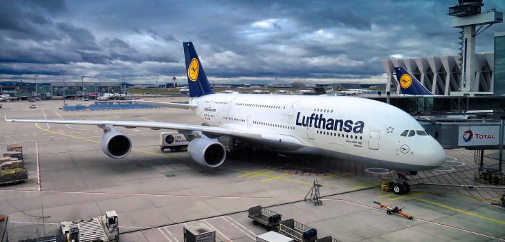 Airbus A380 plane