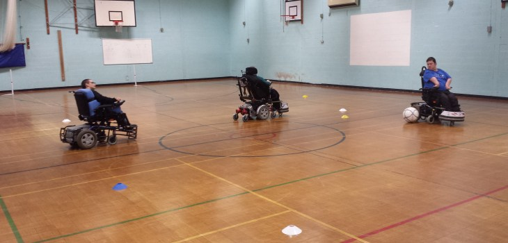 Powerchair football - Lincolnshire - disability