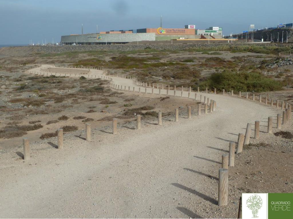 sendero playa-A