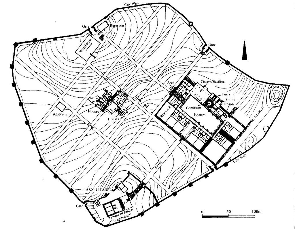 4 1 3 4 3 The Roman Grid Towns