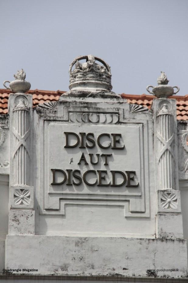 Disce aut Discede