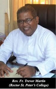 Fr. Trevor Martin, Rector St. Peter's College
