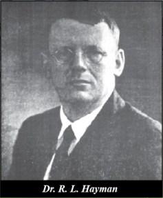 Dr. R.L.Hayman