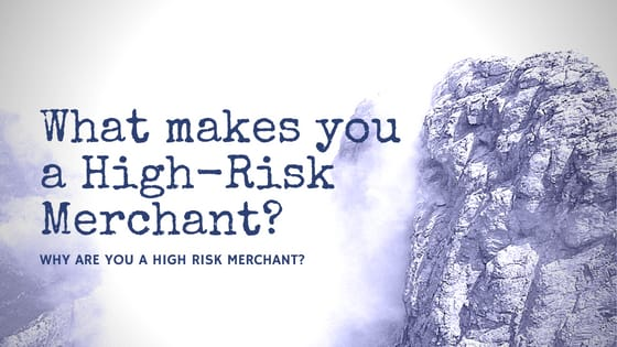 What makes you a High-Risk Merchant?