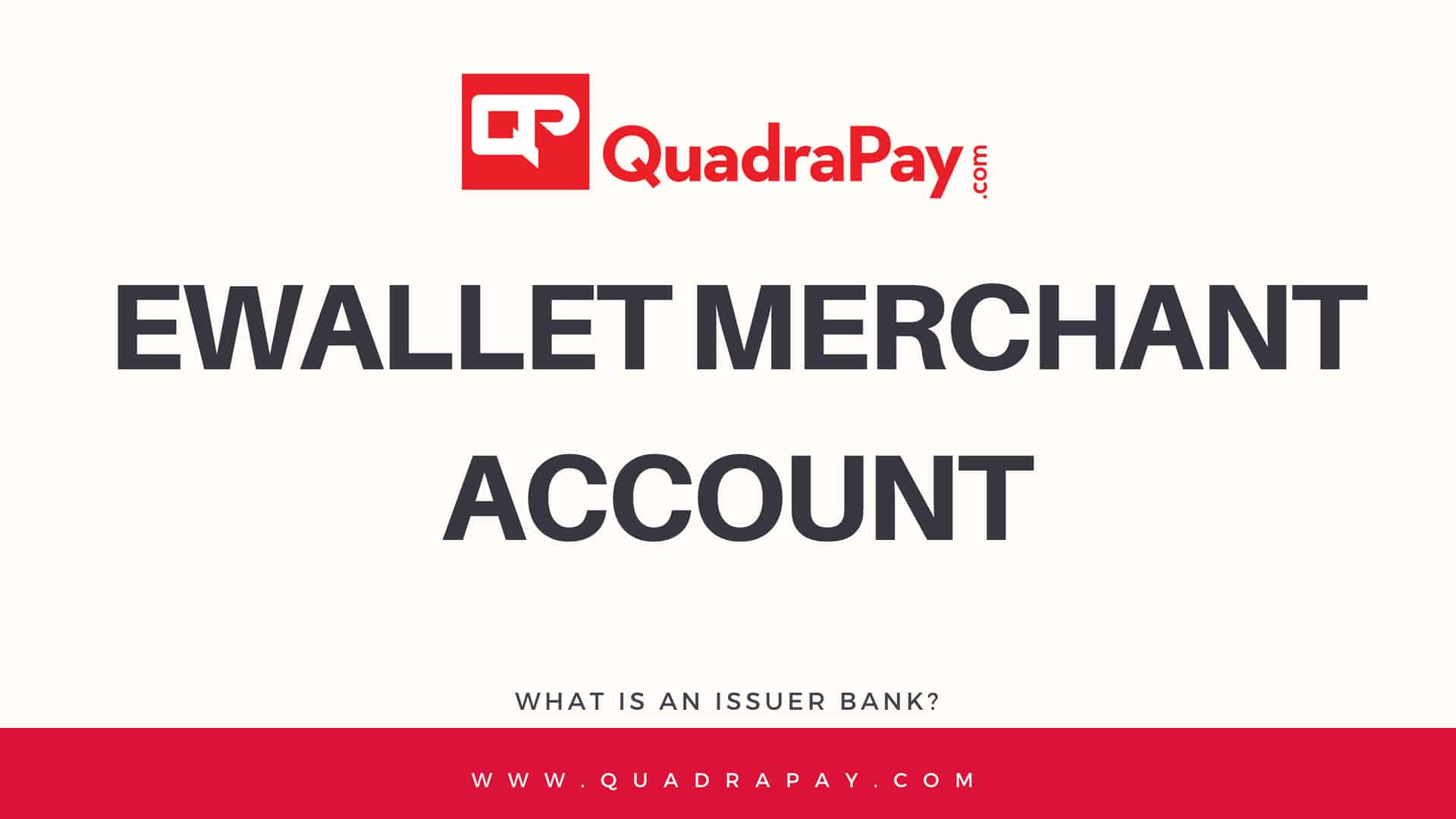 Ewallet Merchant Account