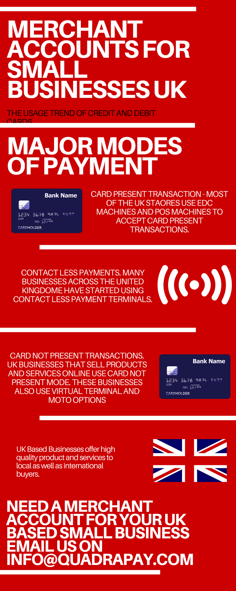 Merchant Accounts For Small Businesses UK