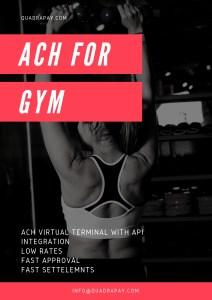ACH For Gym Payments