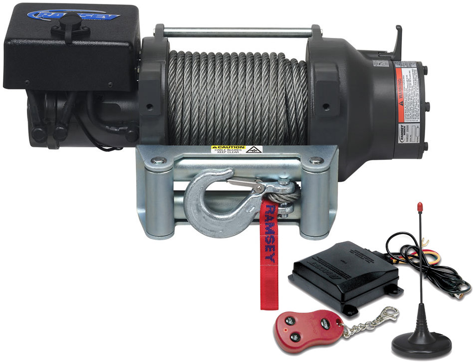 Ramsey 109160 Patriot 15,000 Winch With Wireless Remote