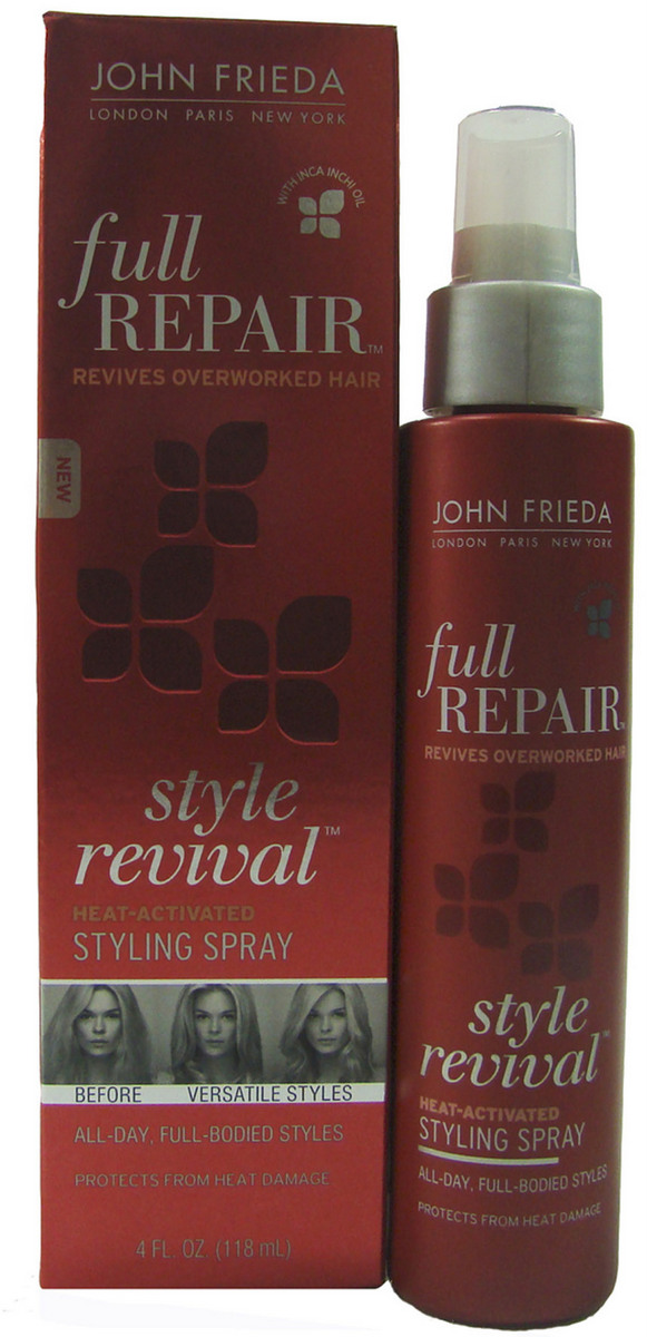 Full Repair Style Revival Heat-ActivatedStyling Spray - John Frieda