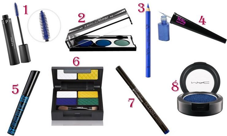 maquiagem - Electric Blue